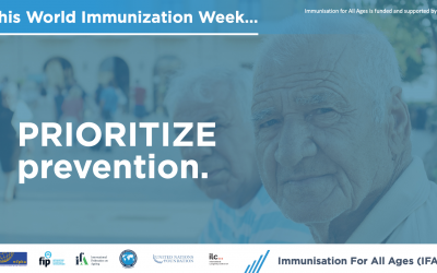 Promoting immunisation throughout life – World Immunisation Week