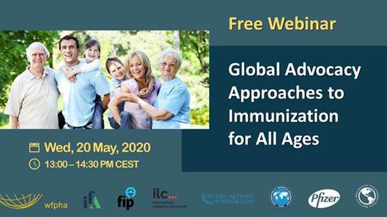 Global Advocacy Approaches to Immunisation for All Ages: Webinar Invitation